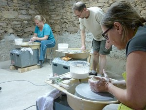 keramiekcursus van A Ceramica in Portugal